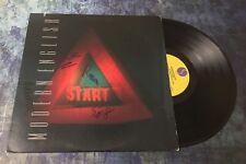 GFA Stop Start Vinyl * MODERN ENGLISH * Signed Record Album COA