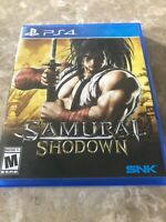 Samurai Shodown (Sony Playstation 4 ps4) Complete. Fast Free Ship.