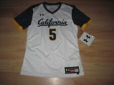 Under Armour California Golden Bears Womens Sz Small White Volleyball Jersey/New