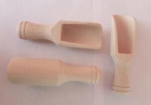 Gewürzschaufel Holz-Teeschaufel Abwiege-Schaufel Mehlschaufel Mini-Holzschaufel