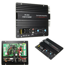 12V 600W Mono Car Audio Digital Amplifier Board Powerful Bass Subwoofers Amp