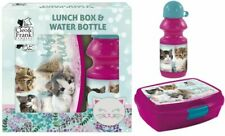 WATER BOTTLE LUNCH BOX CLEO & FRANK CATS KITTEN