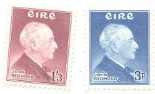 Ireland 1957 John Redmond Politician set mnh(164-5)