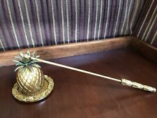 Partylite Island Escape Pineapple Candle Snuffer with Tray