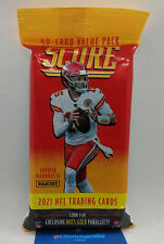 2021 Panini Score NFL Football Cards Sealed Cello Value Fat Pack IN UK Lawrence?