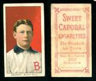 1909-11 T206 Baseball Cards 83