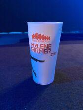 MYLENE FARMER  Gobelet Non Daté Merchandising Officiel Verre
