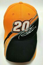 NASCAR NO. 20 TONY STEWART orange / black adjustable cap / hat