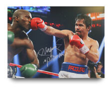 Manny Pacquiao Signed 16x12 Photo Boxing Display Autograph Memorabilia + COA