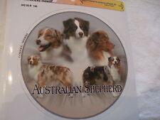 1 autocollant - motif chien  BERGER AUSTRALIEN