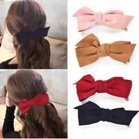 Bow Big Bowknot Hair Clip Headwear Barrette Women Girls Hair Accessories Fashion