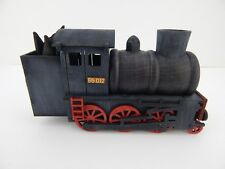 New Steam Locomotive Train Wood Smoker by Hela for Crottendorfer Made in Germany