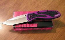 KERSHAW New Ken Onion Design Purple Blur Plain Tanto Blade Knife/Knives