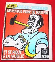 CHARLIE HEBDO n°482 - 1980 - Couverture CABU : Marchais. Coluche. Parfait état