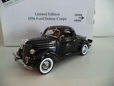 Danbury Mint Ford Deluxe Coupe Limited Edition 1936 In Box