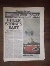 DAILY TELEGRAPH NEWSPAPER HISTORY OF THE SECOND WORLD WAR PART 2