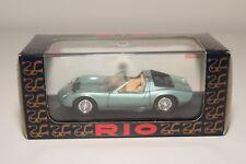 Q RIO R9 LAMBORGHINI MIURA ROADSTER 1968 METALLIC LIGHT GREEN MINT BOXED