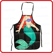 APRON-ATTITUDE FUNNY-LITTLE MERMAID-ARIEL-FAIRY TALE-KITCHEN-COOKING-PARTY-BBQ