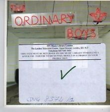 (CK235) The Ordinary Boys, How to Get Everything ...  - 2006 DJ CD