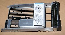 """New Dell SAS Hybrid Drive Carrier 3.5"""" tray 2.5"""" adapter 9W8C4 F238F R710, R720"""