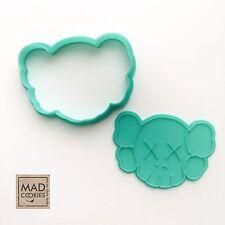 KAWS Companion cookie cutter - cookiecutter  - Plastic 3d printed (PLA)