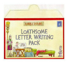 Horrible Histories Loathsome Letter-Writing Pack Children's Stationary Set NEW