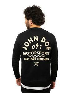 John Doe I Sweater Springfield I Pullover I Herren I schwarz