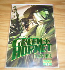 Green Hornet Year One #1 VF/NM alex ross foil edition w/COA (limited to 375) DF