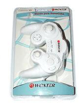 Mando compatible Nintendo GameCube/Wii blanco pad controller nuevo new