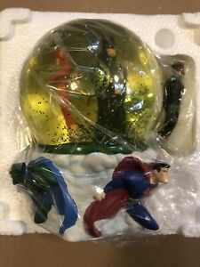 DC Direct Justice League Animated Snowglobe Ltd Ed #386/1300, Never Displayed!!!