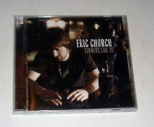 Eric Church Sinners Like Me CD Free Shipping
