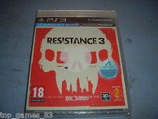 RESISTANCE 3 PLAYSTATION PS3 NEUF SOUS BLISTER (envoi suivi)