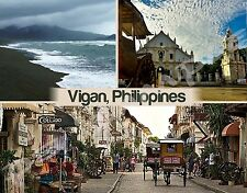 Philippines - VIGAN - Travel Souvenir Flexible Fridge Magnet