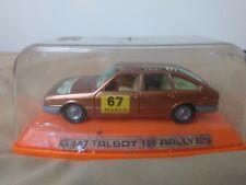 Antigua miniatura 1:43 Pilen M-547 Talbot 150 Rally. Made in Spain.