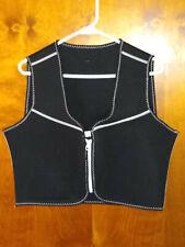 (XL) 2 Pc Women's Neoprene Sweat Sauna Body Shaper Weight Loss Vest & Pants