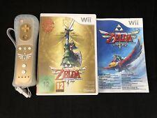 Zelda Skyward Sword Edicion coleccionista Juego Mando Y Manual.