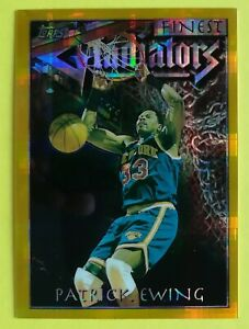 1996-97 Patrick Ewing Finest Atomic Gold Refractor #136