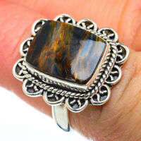 Pietersite 925 Sterling Silver Ring Size 6 Ana Co Jewelry R46857F