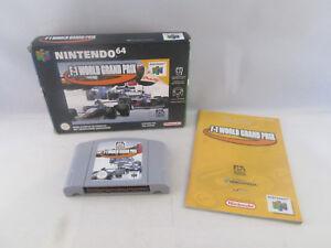 Nintendo 64 N64 - F-1 World Grand Prix