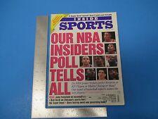 Vintage February 1993 Inside Sports Magazine NBA Insiders 82 pgs. M596