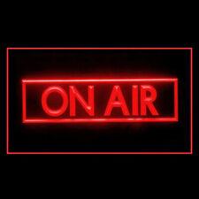 140017 On Air Recording Studio Disruptive Blog Banner Hot Media LED Light Sign