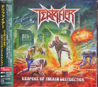 TERRIFIER-WEAPONS OF THRASH DESTRUCTION-JAPAN CD BONUS TRACK F75