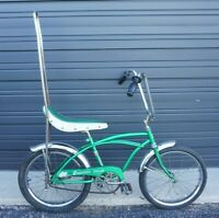 Vintage Huffy Cheater Slick Bicycle - LOCAL PICK-UP ONLY