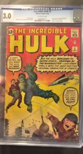 Incredible Hulk #3 CGC Universal Grade of 3.0 Off White Pages