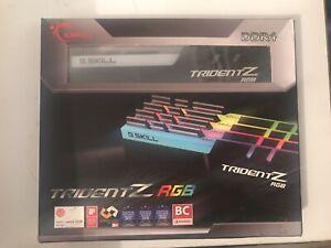 128gb 4x32gb G.skill trident z rgb ram DDR4-2666 CL 18