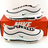 Nike Air Max 97 Soft Pink Women's Shoes Sneakers White Black Red 921733 603