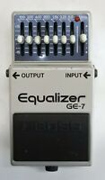 BOSS GE-7 Equalizer Guitar Effects Pedal made in Japan 1988 #202 Free Shipping