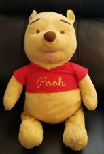 "Disney Large Winnie the Pooh Bear Celebrating 80 Years of Friendship Plush - 24"""