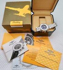Mens Pre Owned BREITLING MONTBRILLANT1461 JOURS A19030 Automatic Chronograph