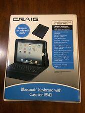 Craig Bluetooth Keyboard with Case for IPAD.